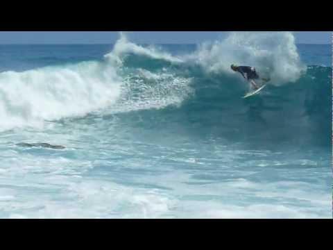 Summertime Northwest Coast Madeira Surf 2012 Part 3
