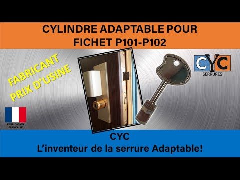 fichet bloc porte serrure cl ou acheter r parer changer vos serrures par adaptables cl cyc. Black Bedroom Furniture Sets. Home Design Ideas