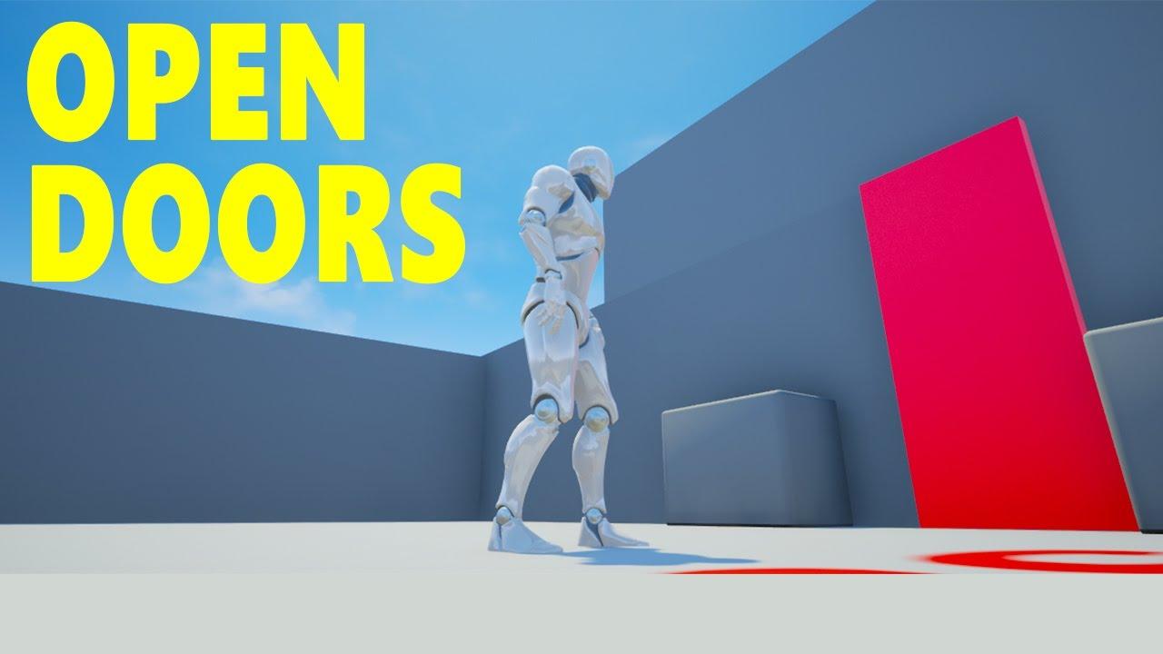 Unreal engine 4 open doors blueprint youtube malvernweather Image collections