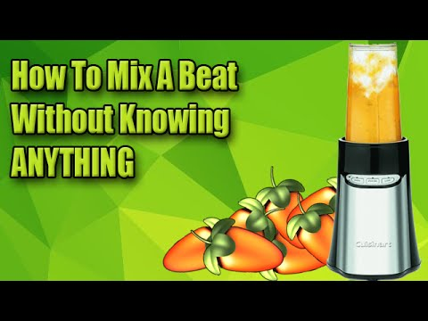 How To Mix A Beat Without Knowing ANYTHING