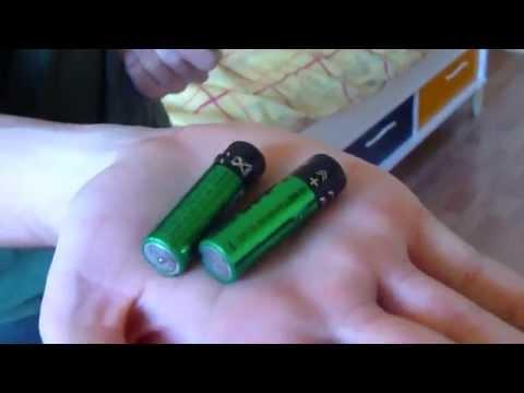 Charger des piles non rechargeables (méthode empirique)