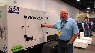 Video still for Doosan Portable Power at World of Concrete 2020