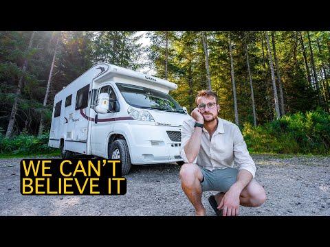 we broke our van   vanlife uk