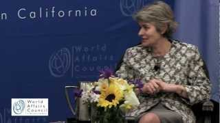 Irina Bokova on Peace, Security, and Democracy In Brief