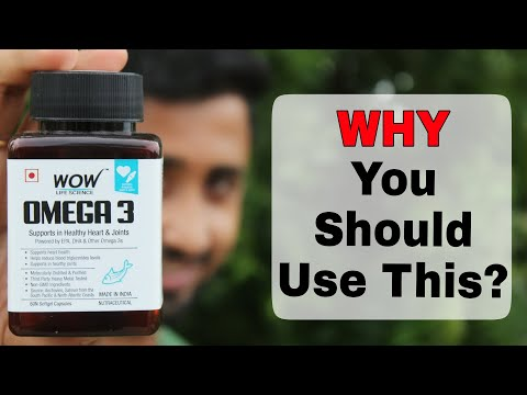 Best Supplement For Overall Health | Wow Omega 3 Complete Review In Hindi