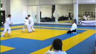 Aikido demonstration  Children  Айкидо  Дети(LIKE US! https://www.facebook.com/aikidojo.ru More Aikido video http://www.youtube.com/user/aikidorus VK! http://vk.com/aikidojo http://aikidojo.ru/main.php ..., 2013-10-06T11:08:05.000Z)