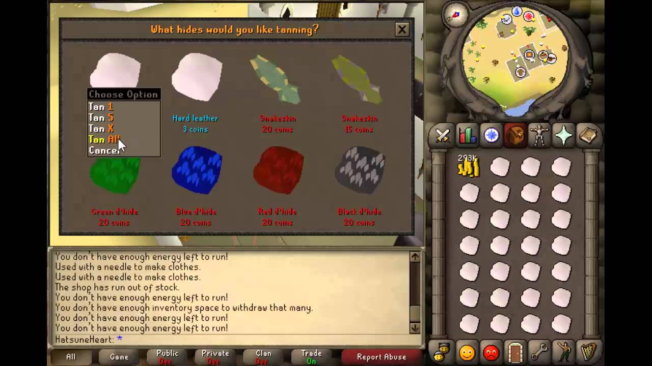 Old runescape: level 1-10 crafting guide for 2007 runescape [quick.