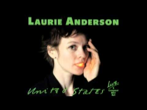 Laurie Anderson Cello Solo
