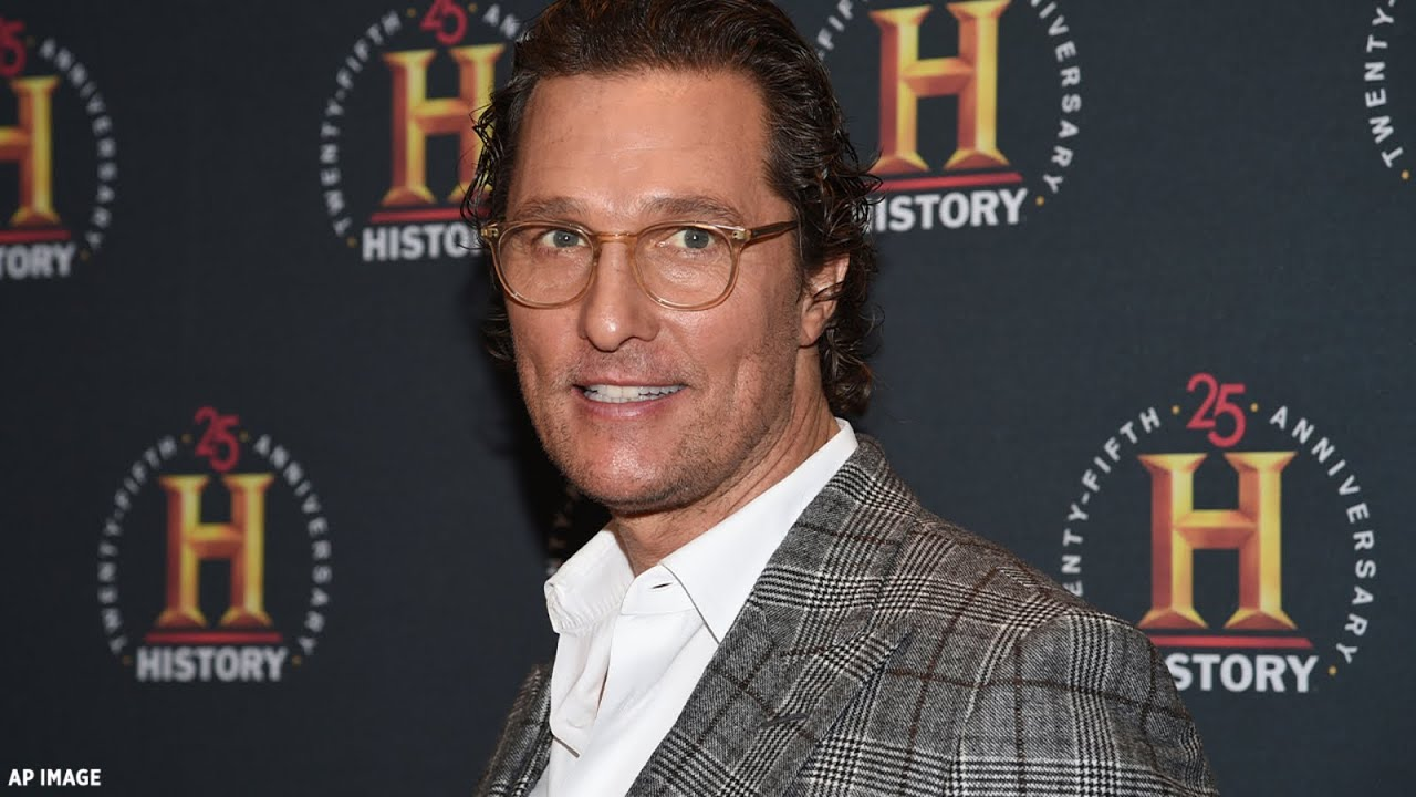 Matthew McConaughey dishes on whether he'd run for Texas ...