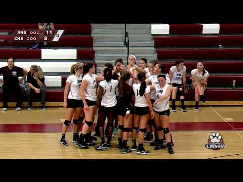 2016 21 09 Girls Volleyball vs Andover