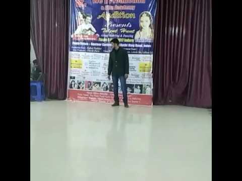 Modeling Audition Dhar by Ashutosh Vaishnav. 05/03/2017