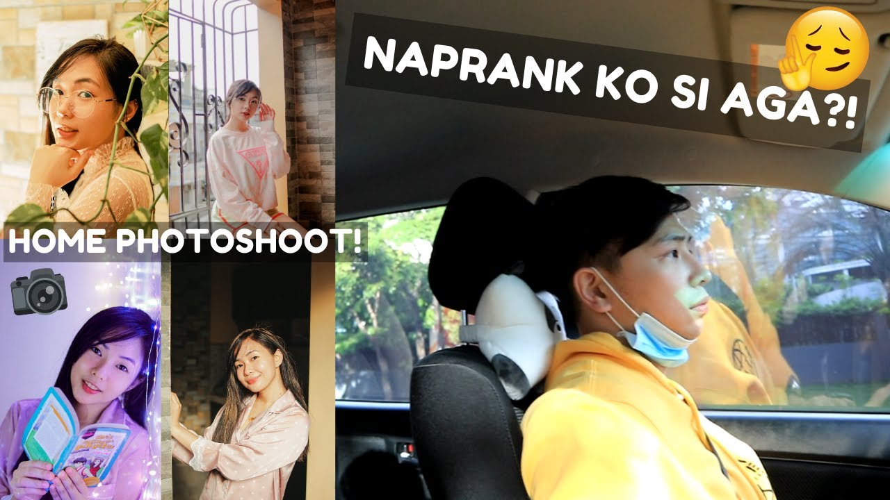 ANG PRANK NA HINDI PRANK + HOME PHOTOSHOOT!