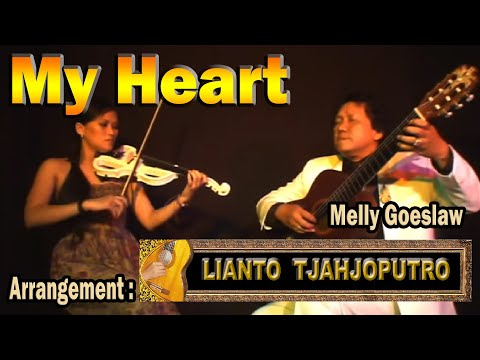 My Heart - Melly Goeslaw - arrangement: Lianto Tjahjoputro (guitar) & Elisabeth Kurnia Dewi (violin)