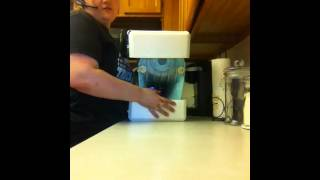 Kitchenaid stand mixer ice blue unboxing