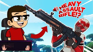 NEW Legendary Assault Rifle in today's Fortnite UPDATE!