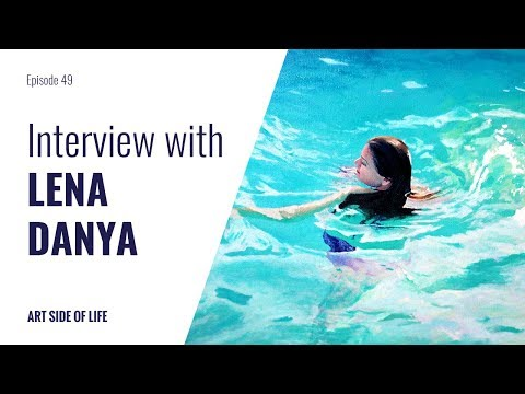 HOW TO BE A FULL TIME YOUTUBER AND OIL ARTIST -WITH LEN DANYA (EP.49)