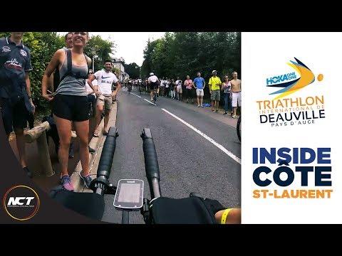 Triathlon Deauville 2017 - Immersion dans la côte Saint-Laurent