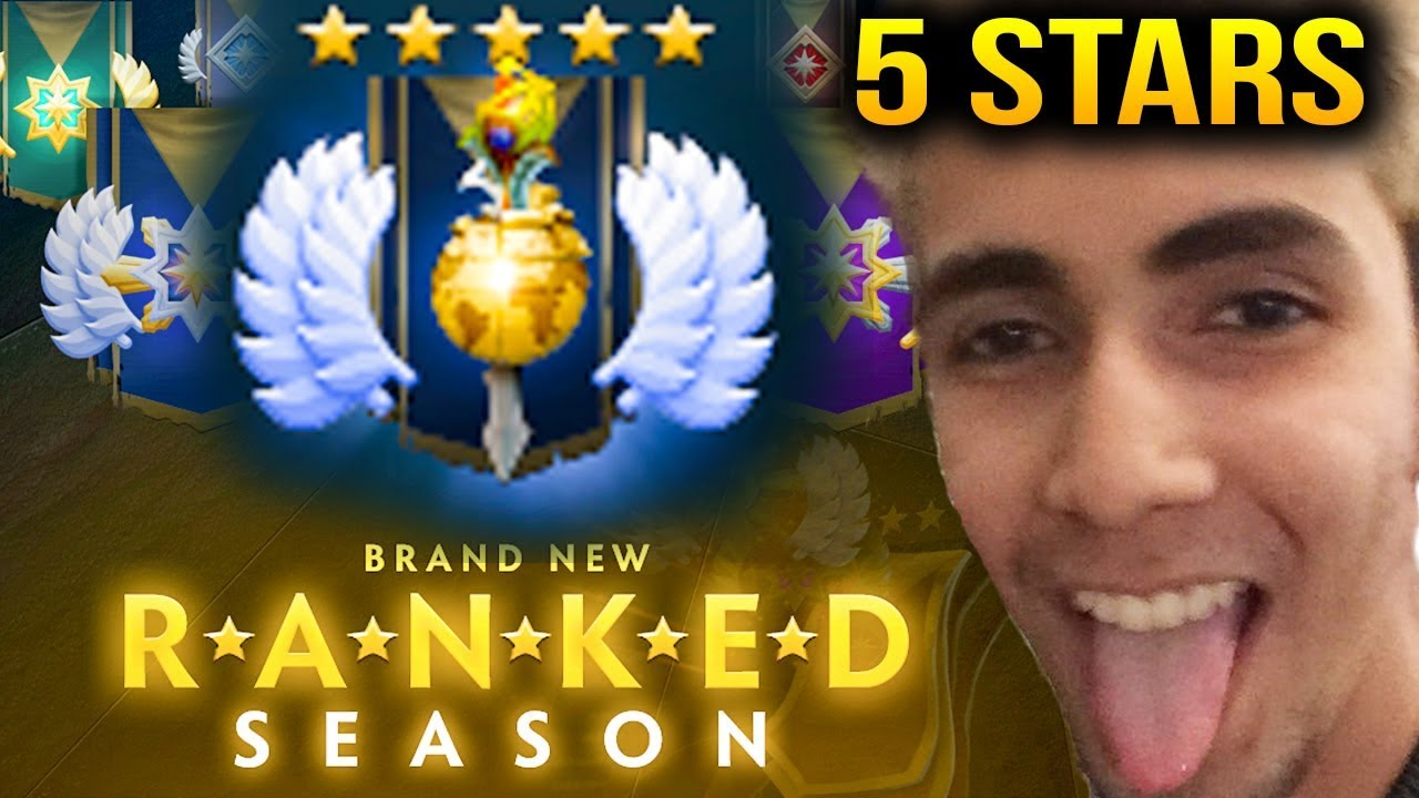 SumaiL New Seasonal Divine Rank 5 Stars Dota 2 707c YouTube