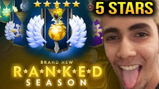 SumaiL New Seasonal Divine Rank 5 Stars Dota 2 7.07c