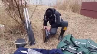 Распаковка и первый спуск на воду ПВХ лодки Bark BT310