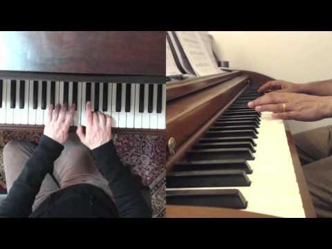 Piano Technique: B Major thirds,  E minor scale turnaroundsdouble tempo
