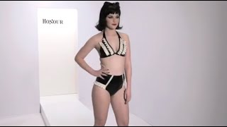 Honour Latex Polka Polly Bra and Polka Frill Polly Knix Thumbnail