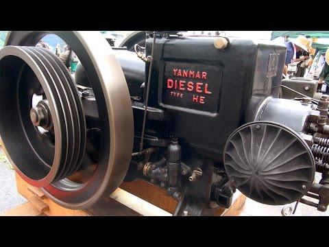Old Engines in Japan 1930s YANMAR DIESEL ENGINE Type HE