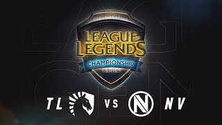 TL vs. NV - Week 7 Game 1 | NA LCS Summer Split | Team Liquid vs. Team Envy (2017)