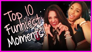 Fifth Harmony - Top Ten Funniest 5H Moments - Fifth Harmony Takeover Ep. 56