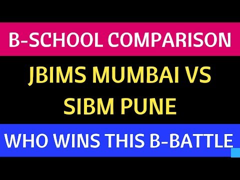 JBIMS VS SIBM : B-School Comparison. Intake, Fees, Placements, Admission Process. Guess who WINS?