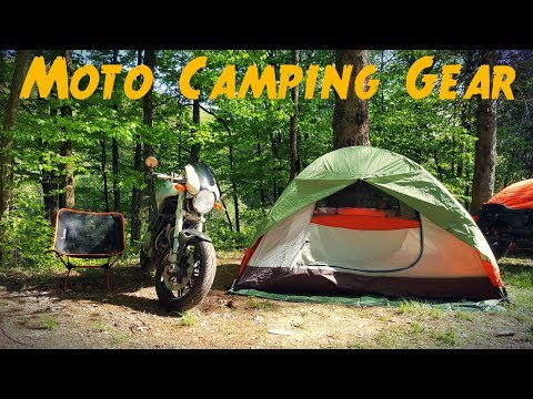 MY MOTO CAMPING GEAR - Compact, Lightweight And AFFORDABLE
