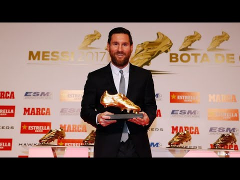 [FULL STREAM] Leo Messi receives the 2018 Golden Shoe Award