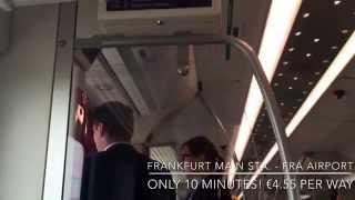 【マイルで世界一周】ドイツ・フランクフルト中央駅から空港までのアクセス