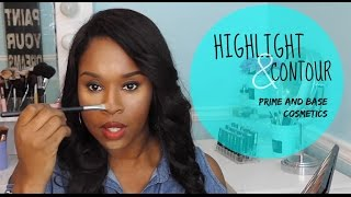 Highlight and Contour w| Prime and Base Cosmetics