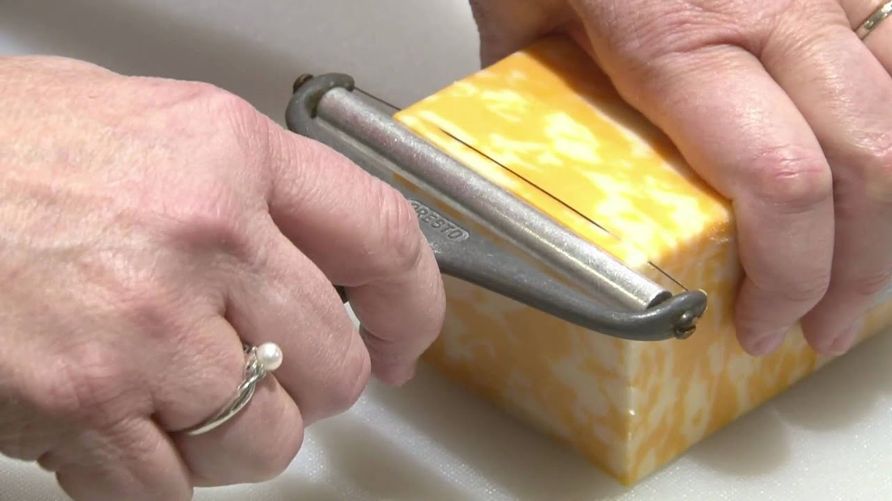 HT Use a Wire Cheese Slicer