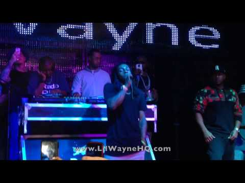 "Lil Wayne Performs ""Fingers Hurting"", ""Coco"" & ""Truffle Butter"" Live At BLVD Nights In Kansas City"