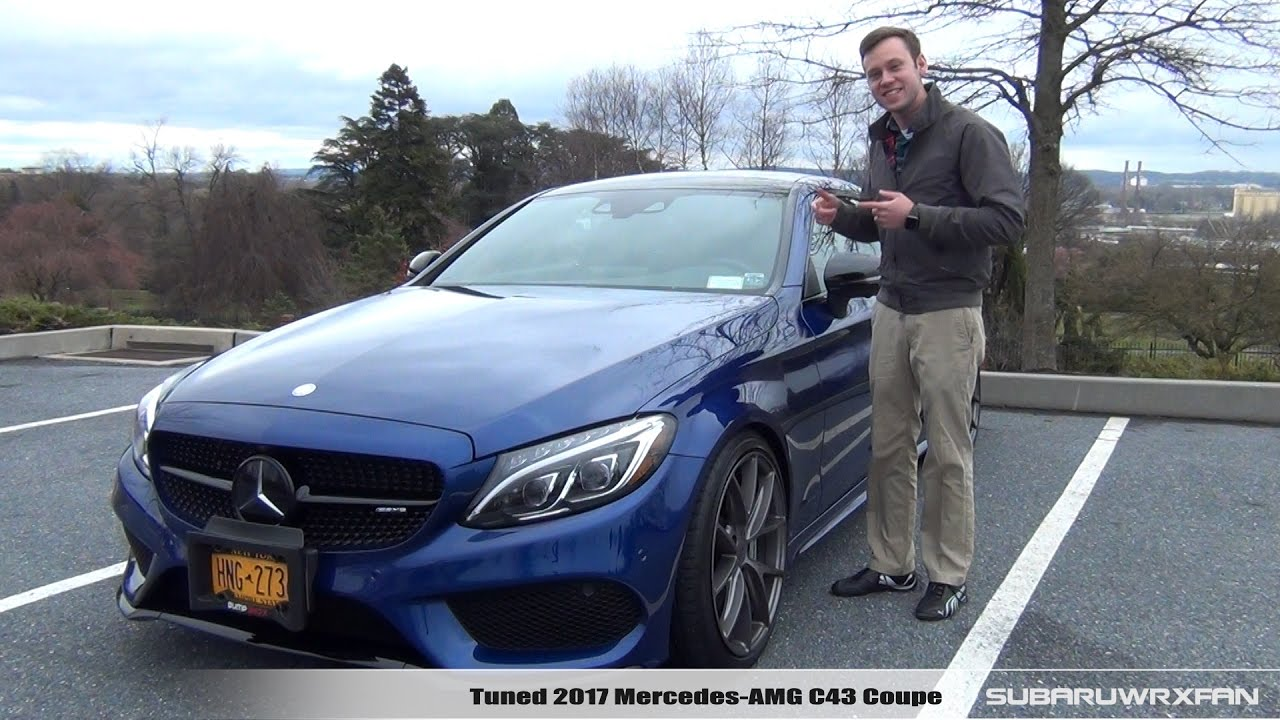 review tuned 2017 mercedes amg c43 coupe youtube. Black Bedroom Furniture Sets. Home Design Ideas