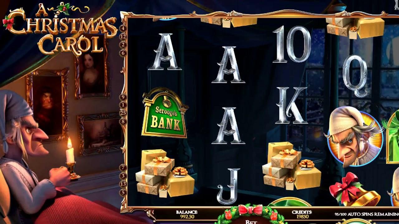 Игровой автомат a christmas carol играть