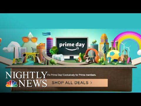 Amazon Site Crashes On Prime Day | NBC Nightly News