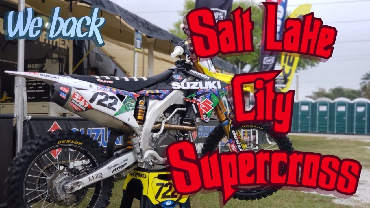 Salt Lake City Supercross vlog! We are back!
