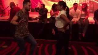 Daniel Sanchez & Griselle Ponce Salsa Dancing First Time Ever @ Seattle Salsa Congress 2015