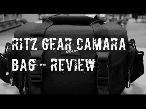 Ritz Gear deluxe camera bag - review