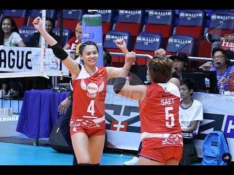 Petro Gazz fights back from two sets down to beat BanKo Perlas for first win in PVL