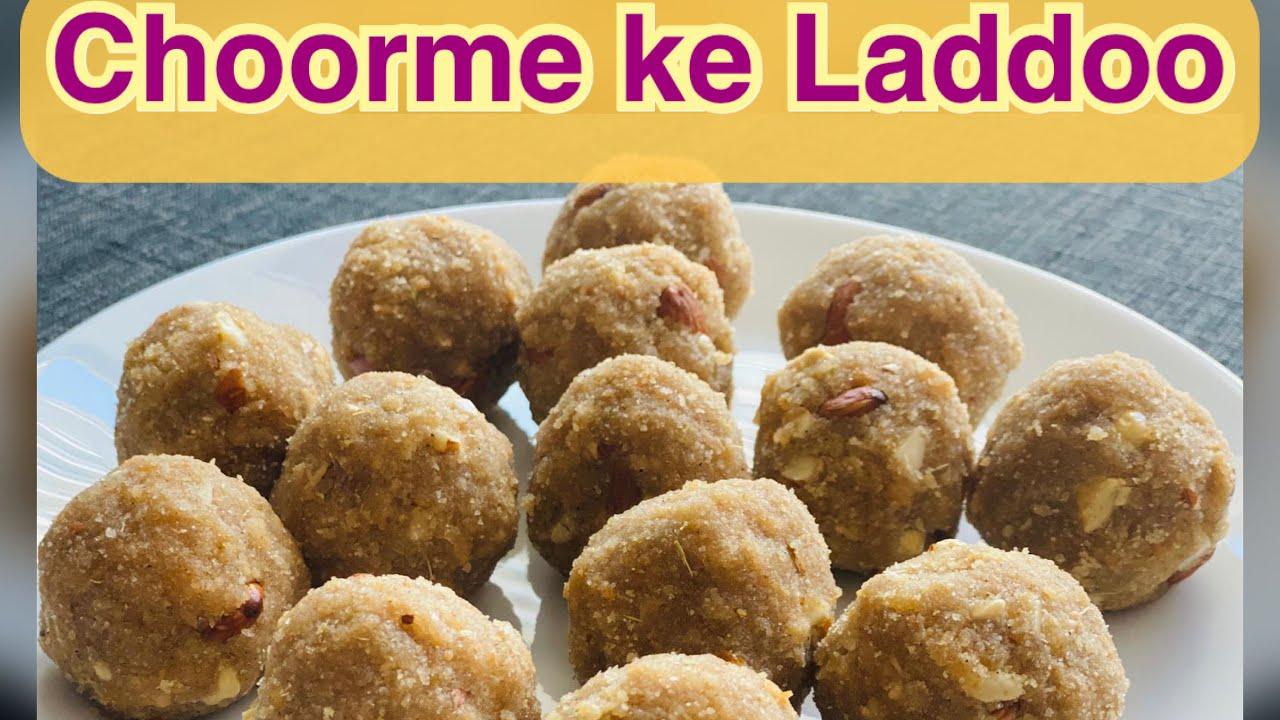 Choorme Laddoo | Rajasthani food in Canada | Choorme k Laddoo | Indian Canadian Cooking