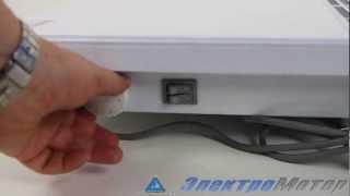 видео Электроконвектор универсальный (настенно-напольный) ЭВУБ-0,5/220