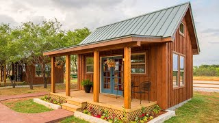 Most Coziest Vacation Cabin Country Tiny House For 4 People | Tiny House Big Living