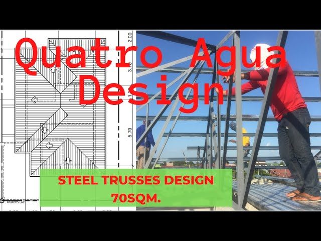 Steel Trusses Roof Cost And Design Philippines Youtube