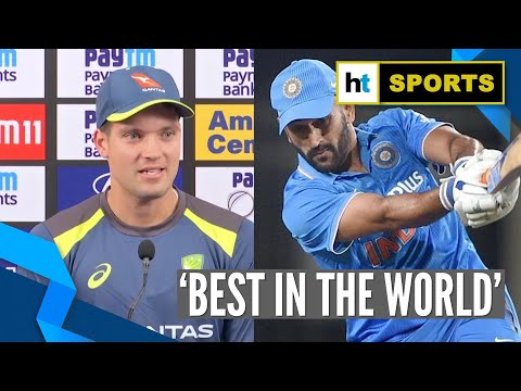 India Vs Australia | 'Aspire To Finish Games Like MS Dhoni': Alex Carey