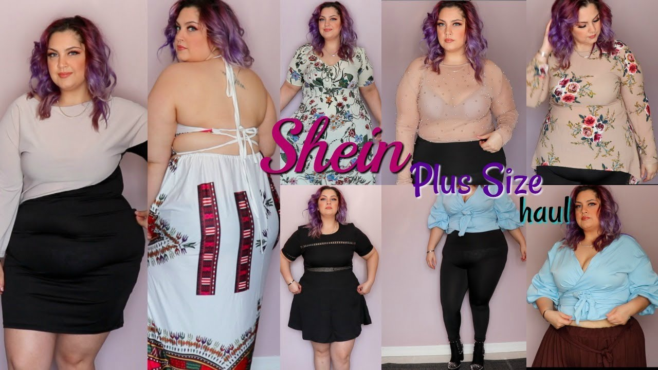 8550741ec69 Shein Plus Size Try On Haul