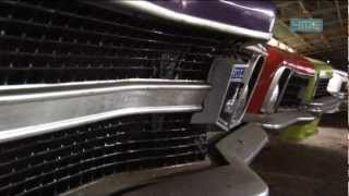 Aussie muscle cars found in massive chook shed in the outback pt1